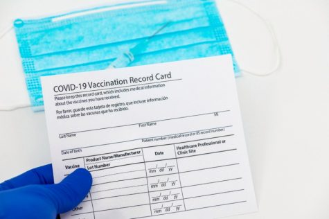 COVID-19 vaccination cards are automatically received once a vaccine is given to a patient.