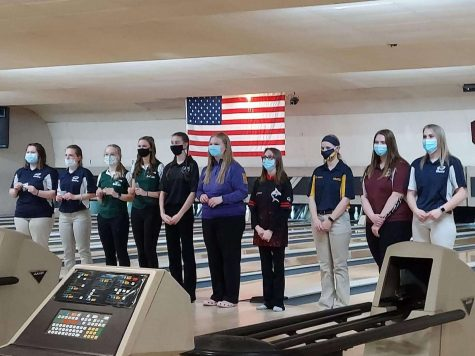Bowling competes at regional competition
