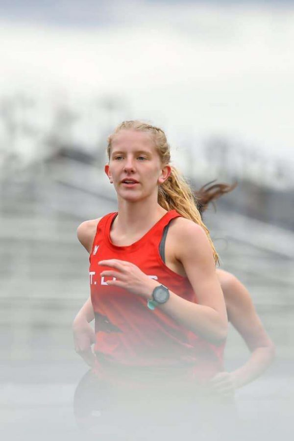 Mikenna Borie had great races Wednesday.