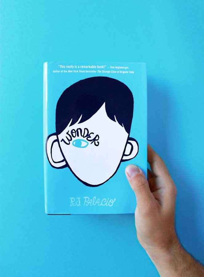 The book Wonder is a fan favorite and can be found in many people's hands.