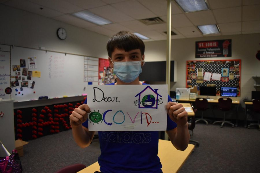 """Dear COVID-19"" by SLHS Seniors"