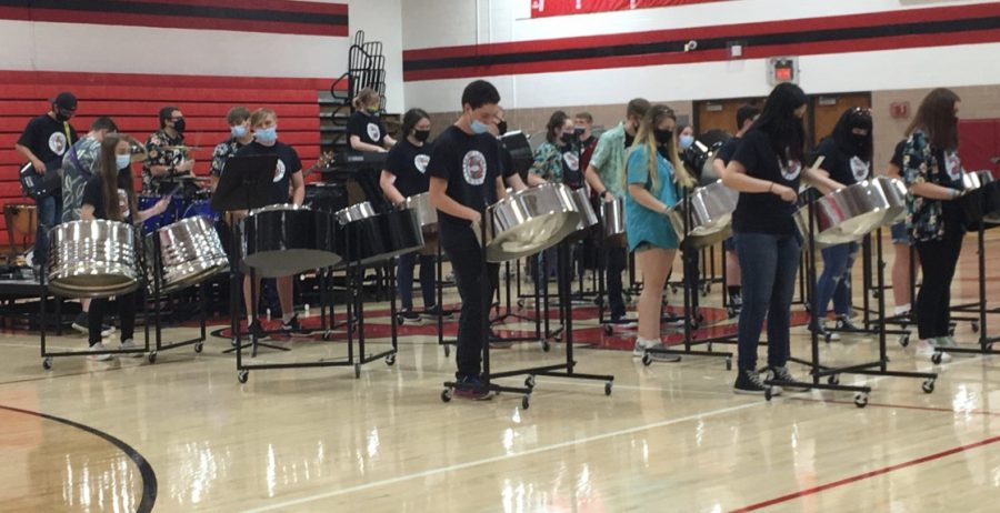St. Louis High School Band performs May 13th