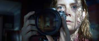 Pictured promotional image for The Woman in the Window movie.