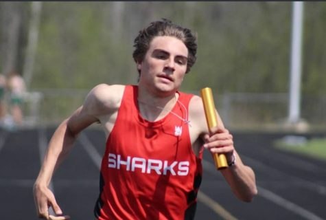 Taipalus ran the 4x200 with Wenzlick, Starry, and Jackson