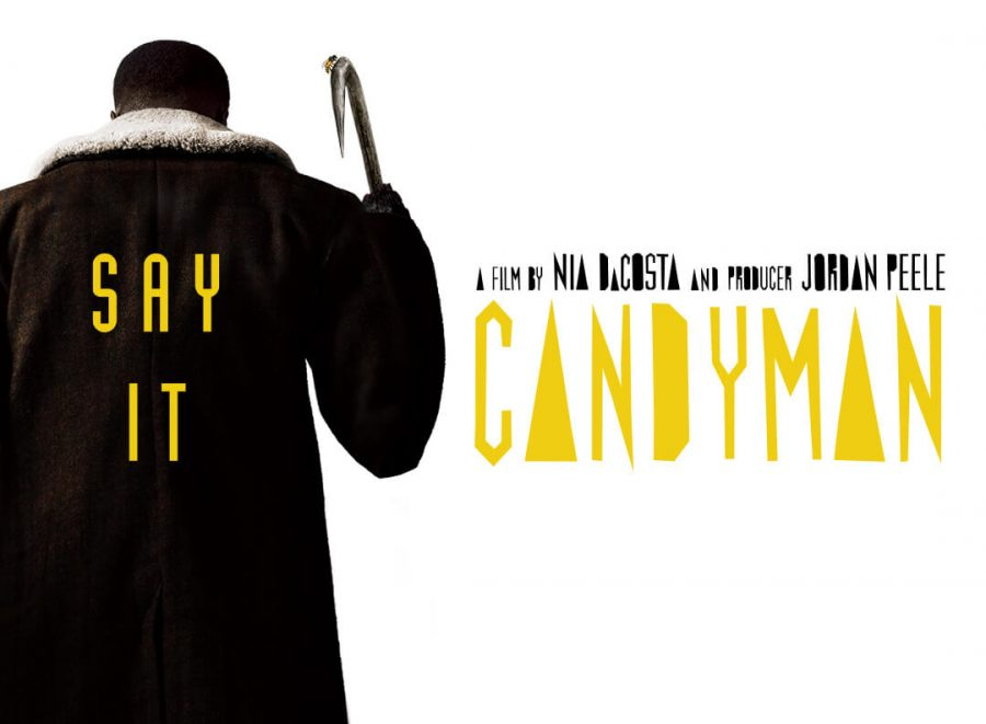 A promotional image for Candyman