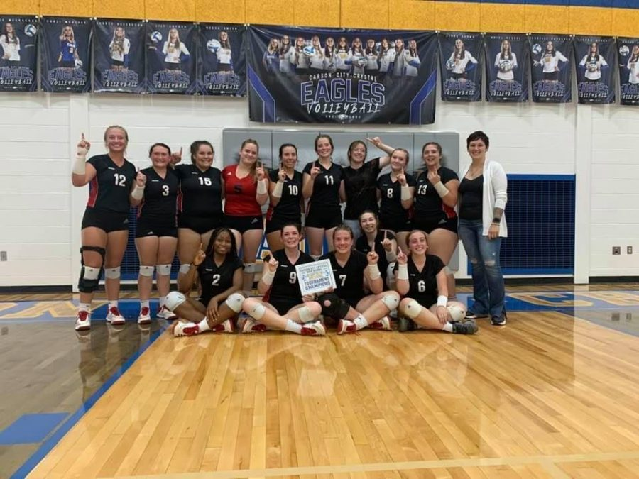 Before the league competition started, the Sharks won the Carson City Crystal Invitational.