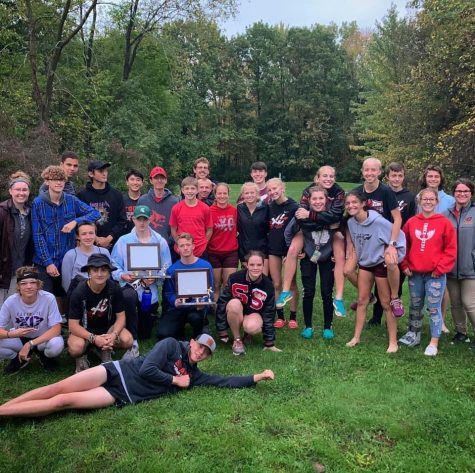 St. Louis guys' and girls' cross country shuts out the competition in their final conference meet.